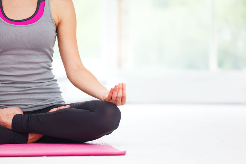 Women doing Yoga for Thyroid