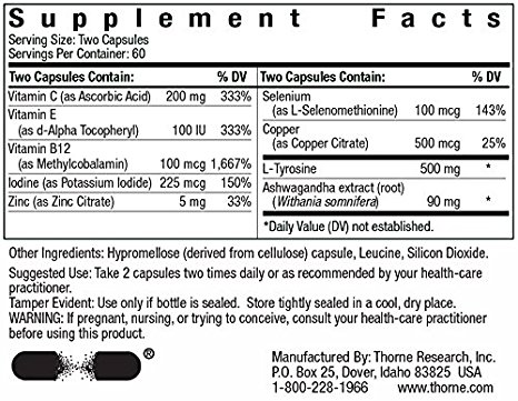 Thyroscin Label
