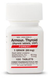 Armour Thyroid bottle